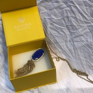 Kendra Scott Blue Necklace tassel
